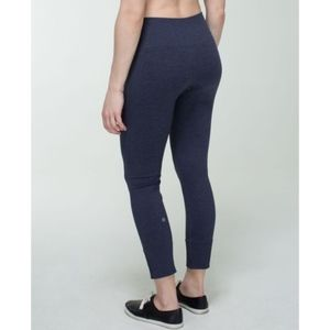 Lululemon Ebb To Street Pant Heathered Navy 6